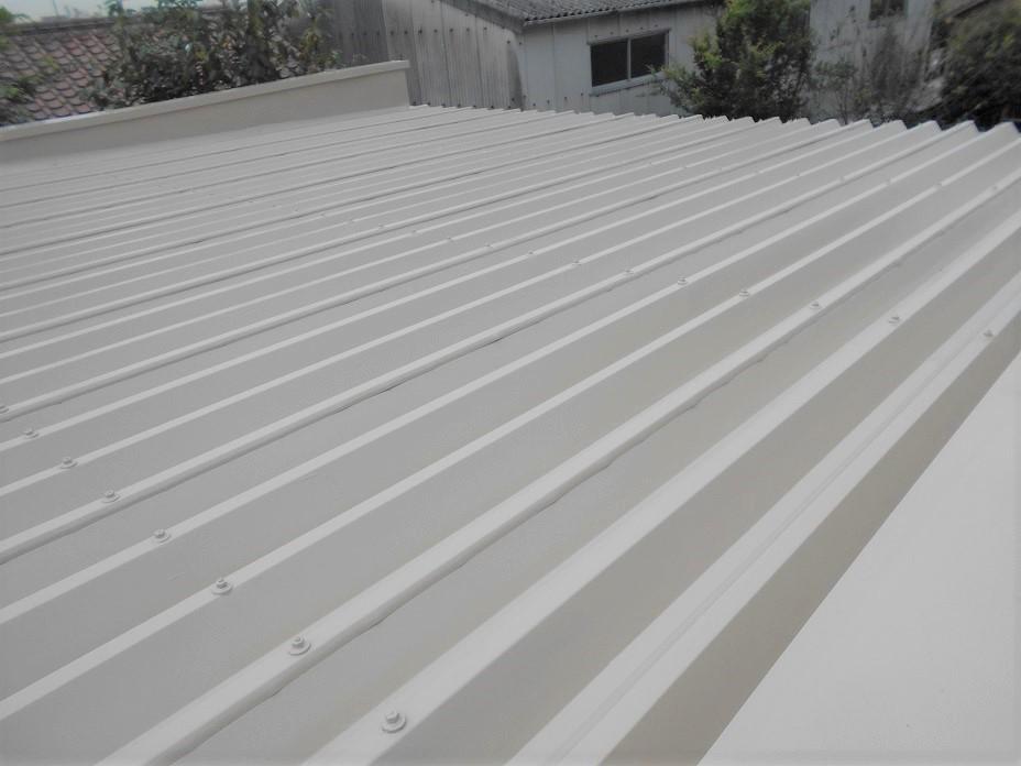 ⑤姫路市T邸屋根上塗り完成